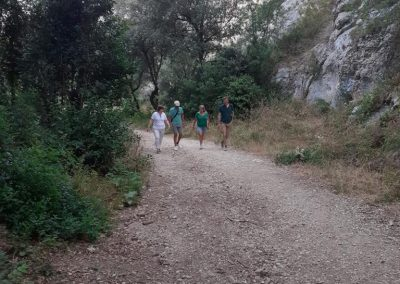 """La visite au """"Rocher des Deux Trous"""" de Saint-Remy de Provence, au coeur des Alpilles, est un des incontournables de nos hôtes et visiteurs…"""